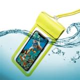 """Celly Splash Bag voděodolné pro 6,5"""" žluté"""
