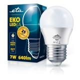 ETA EKO LEDka mini globe 7W, E27, teplá bílá