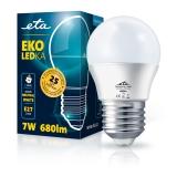 ETA EKO LEDka mini globe 7W, E27, neutrální bílá