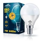 ETA EKO LEDka mini globe 7W, E14, teplá bílá
