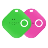 FIXED Smile s motion senzorem, DUO PACK zelená/růžová