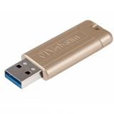 Verbatim Store 'n' Go PinStripe 128GB zlatý