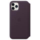 Apple Leather Folio pro iPhone 11 Pro - lilkové