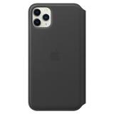 Apple Leather Folio pro iPhone 11 Pro Max černé