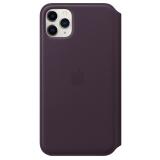 Apple Leather Folio pro iPhone 11 Pro Max - lilkové