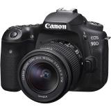 Canon EOS 90D + 18-55 IS STM černý + dárek