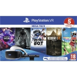 Sony PlayStation VR + kamera + 5 her (VR Worlds, Skyrim, Resident Evil 7, Everybodys Golf, Astrobot)