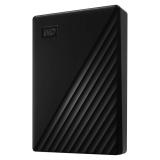 Western Digital My Passport Portable 4TB, USB 3.0 černý