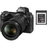 Nikon Z6 + 24-70 + 64 GB XQD karta černý