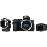 Nikon Z50 + 16-50 VR + adaptér bajonetu FTZ černý