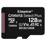 Kingston Canvas Select Plus MicroSDXC 128GB UHS-I U1 (100R/10W)