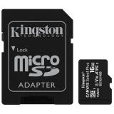 Kingston Canvas Select Plus MicroSDHC 16GB UHS-I U1 (100R/10W) + adapter