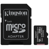 Kingston Canvas Select Plus MicroSDXC 256GB UHS-I U1 (100R/85W) + adapter