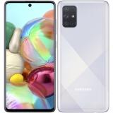Samsung Galaxy A71 stříbrný