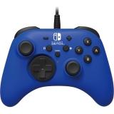 HORI Wired Controller HORIPAD pro Nintendo Switch modrý
