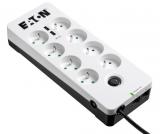 Eaton Protection Box 8 x zásuvka, 2x USB bílá