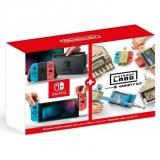 Nintendo Switch s Joy-Con v2 + Nintendo Labo Variety kit červená/modrá