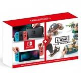 Nintendo Switch s Joy-Con v2 + Nintendo Labo Vehicle kit červená/modrá