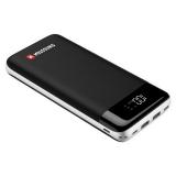 Swissten Black Core 30000mAh, Micro USB/USB-C PD/Lightning, QC 3.0 černá