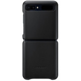 Samsung Leather Cover na Galaxy Z Flip černý