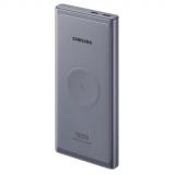Samsung 10000mAh, USB-C, bezdrátové nabíjení šedá