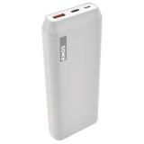 EMOS AlphaQ 20, 20000 mAh, USB-C PD 18W, QC 3.0 bílá