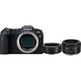 Set (Objektiv Canon EF 50 mm f/1.8 STM) + (Digitální fotoaparát Canon EOS RP tělo + adapter)