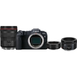 Set (Objektiv Canon EF 50 mm f/1.8 STM) + (Digitální fotoaparát Canon EOS RP + M 24-105 L IS USM + adapter)