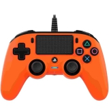 Nacon Wired Compact Controller pro PS4 oranžový