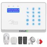 Evolveo Salvarix bezdrátový WiFi&GSM alarm s čtečkou RFID