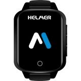 Chytré hodinky Helmer pro seniory LK 706 černé