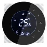 iQtech SmartLife GALW-B, WiFi termostat pro kotle s potenciálovým spínáním černý
