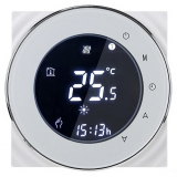 iQtech SmartLife GCLW-W, WiFi termostat pro bojlery a kotle s bezpotenciálovým spínáním bílý