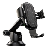 Baseus Wireless Charger Phone holder Adjustable Arm černý