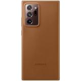 Samsung Leather Cover na Galaxy Note20 Ultra hnědý