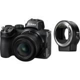 Nikon Z5 + 24-50 VR + adaptér bajonetu FTZ KIT černý