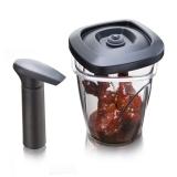 Tomorrow's Kitchen Instant Marinater Medium 1,3 L/44 fl. oz (incl. pump) TK černý