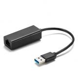 AQ USB 3.0/RJ45 černá