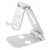 FIXED Frame Phone na stůl pro mobilní telefony stříbrný