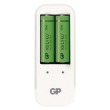 GP PB410 pro AA. AAA + 2x AA ReCyko+ (1300mAh) bílá
