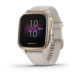 Garmin Venu Sq Music - RoseGold/Sand Band