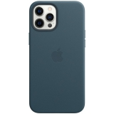 Apple Leather Case s MagSafe pro iPhone 12 Pro Max - baltsky modrý