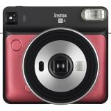 Fujifilm Instax Square SQ 6 černý/červený + dárek
