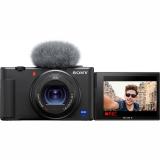 Set (Příslušenství pro fotoaparáty  Sony Grip pro snímání GP-VPT2BT s bezdrátovým dálkovým ovladačem) + (Digitální fotoaparát Sony ZV-1)
