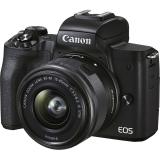 Canon EOS M50 Mark II + EF-M 15-45 černý