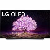 LG OLED48C12 stříbrná/bílá