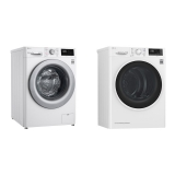 Set (Sušička prádla LG RC82EU2AV4Q) + (Pračka LG Vivace F49V3VW4W)