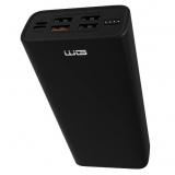 WG 24000 mAh + USB-C PD 45W + QC 3.0 černá