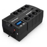 Cyber Power Systems BRICs Series II SOHO LCD UPS 1000VA/600W, české zásuvky
