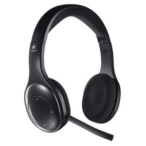 Headset Logitech Wireless H800 černý